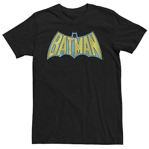 Men's Batman Vintage Batman Comic Logo Tee