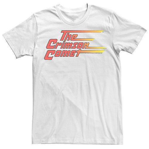 Men's Flash Crimson Comet Vintage Logo Tee