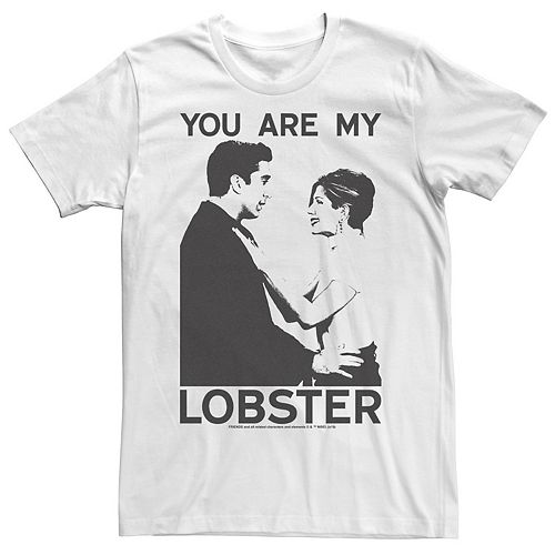 Men's Friends Ross And Rachel You Are My Lobster Tee