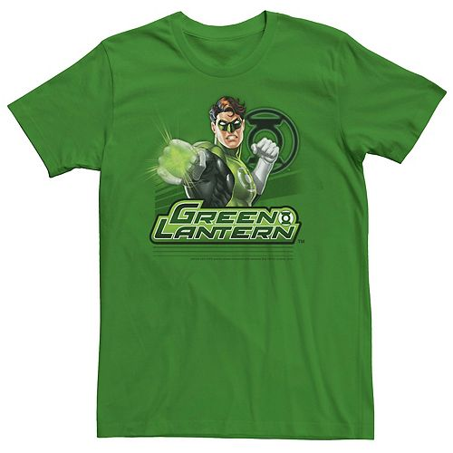 Men's Marvel Green Lantern Portrait Collage Graphic Tee