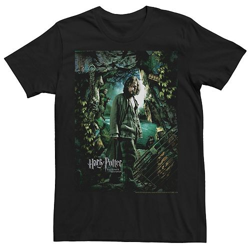 Men's Harry Potter Prisoner Of Azkaban Sirius Black Movie Poster Graphic Tee