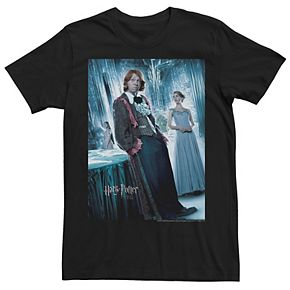 Men's Harry Potter Goblet Of Fire Ron And Hermoine Yule Ball Movie Poster Graphic Tee