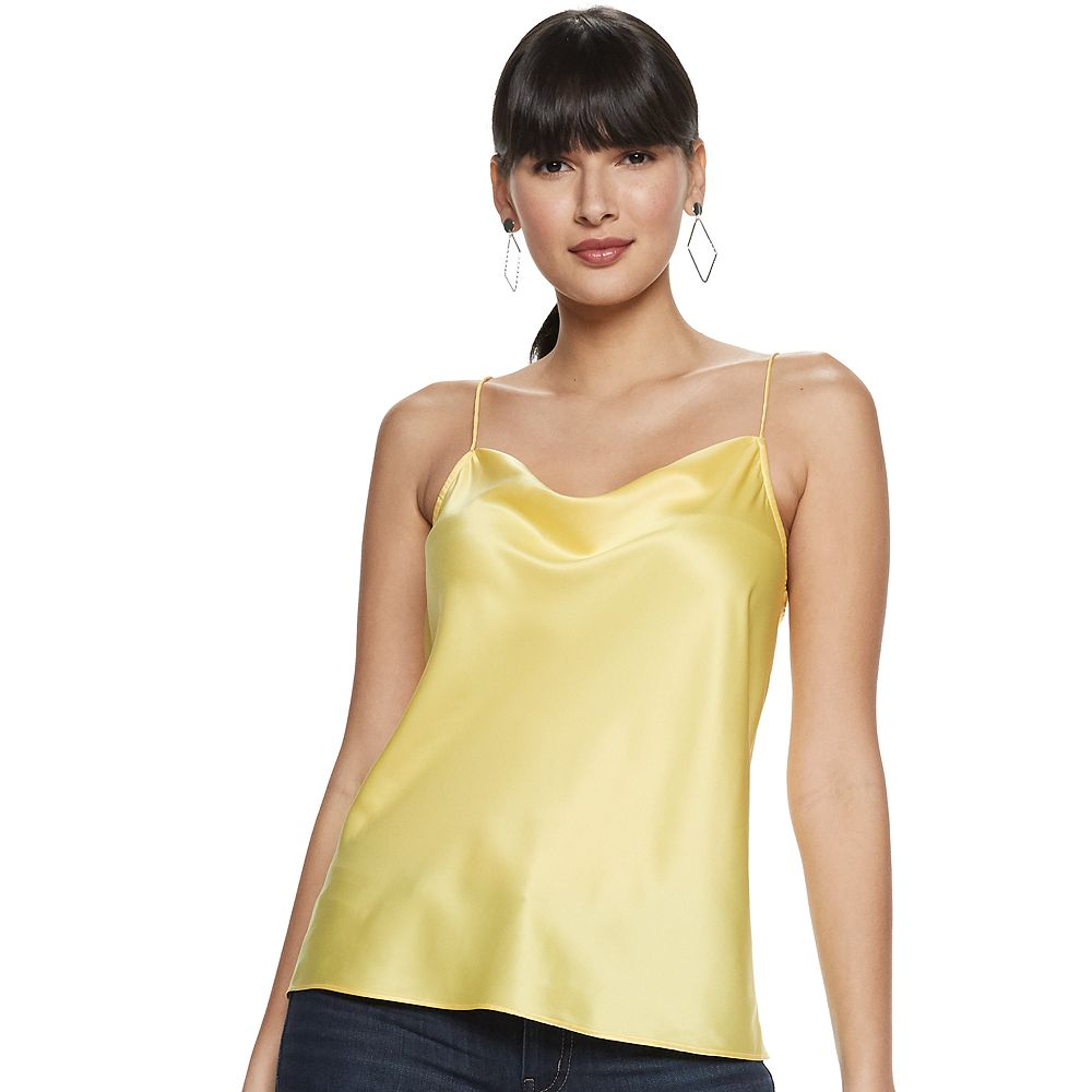 Women's Nine West Cowl Spaghetti Cami