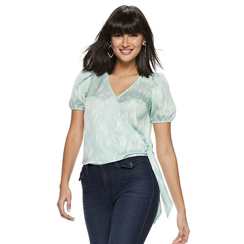 Women's Nine West Puff Sleeve Top