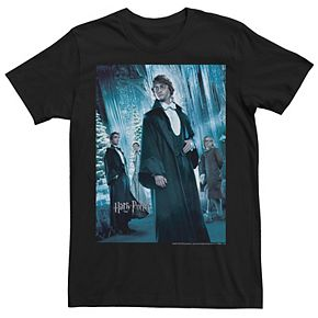 Men's Harry Potter Goblet Of Fire Yule Ball Group Shot Poster Graphic Tee