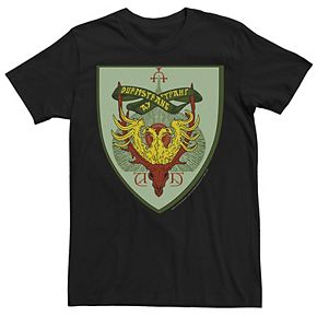Men's Harry Potter Goblet Of Fire Durmstrang Crest Graphic Tee