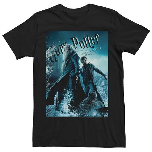 Men's Harry Potter And The Half-Blood Prince Harry & Dumbledore Tee