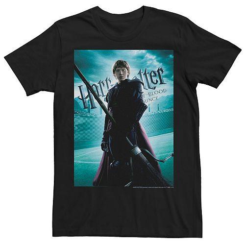 Men's Harry Potter Half-Blood Prince Ron Weasley Poster Graphic Tee
