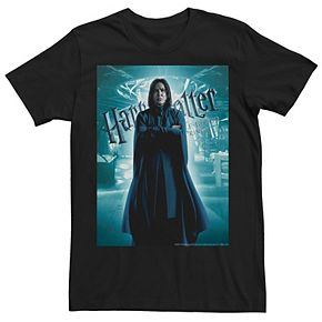 Men's Harry Potter Half-Blood Prince Snape Poster Graphic Tee