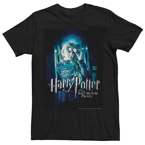Men's Harry Potter Half-Blood Prince Luna Lovegood Poster Graphic Tee