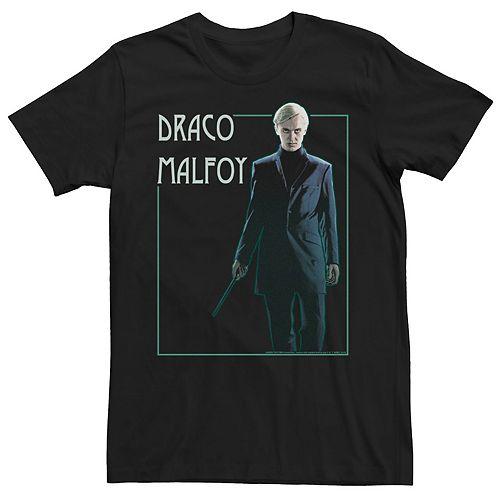 Men's Harry Potter Draco Malfoy Portrait Graphic Tee