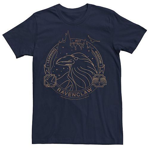 Men's Harry Potter Ravenclaw Badge Tee