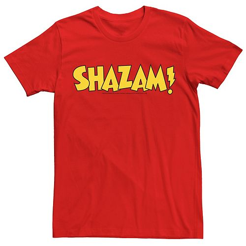 Men's Justice League Shazam Logo Tee