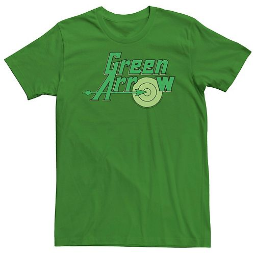 Men's Justice League Green Arrow Target Logo Tee