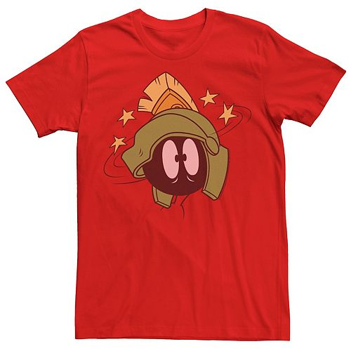 Men's Looney Tunes Marvin The Martian Seeing Stars Graphic Tee