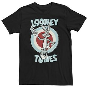 Men's Looney Tunes Bugs Bunny Logo Graphic Tee