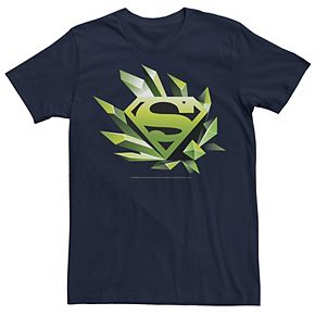Men's DC Comics Superman Kryptonite Logo Graphic Tee