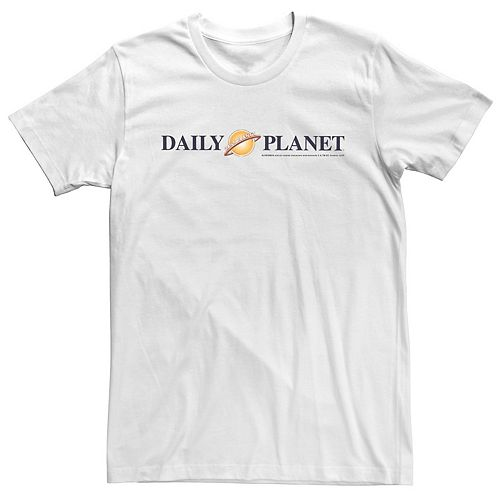 Men's DC Comics Superman Daily Planet Logo Graphic Tee