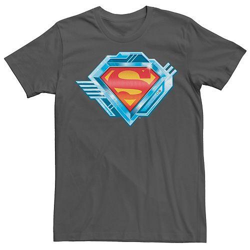 Men's DC Comics Superman Chrome Logo Graphic Tee