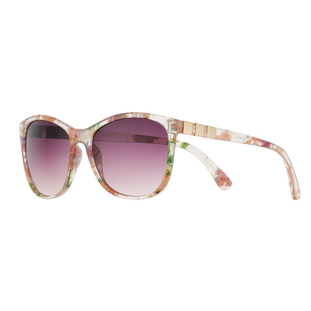 Women's Dana Buchman® 58mm Floral Cat Eye Gradient Sunglasses