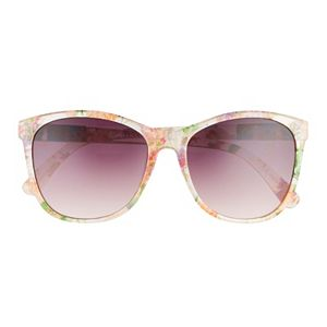 Women's Dana Buchman 58mm Floral Cat Eye Gradient Sunglasses