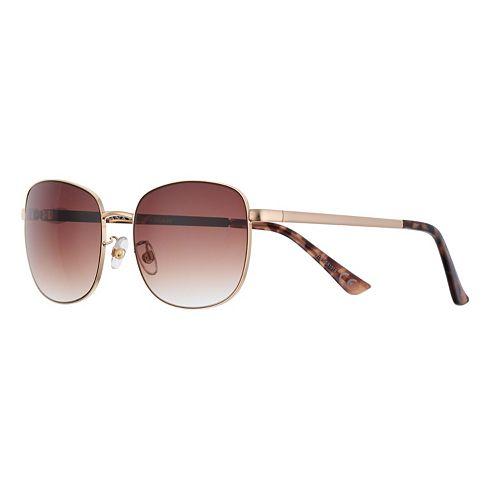 Women's Dana Buchman 56mm Classic Square Gradient Sunglasses