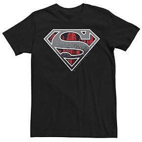 Men's DC Comics Superman Concrete Logo Graphic Tee