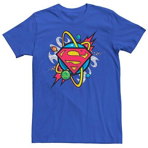Men's DC Comics Superman Planet Chest Logo Graphic Tee
