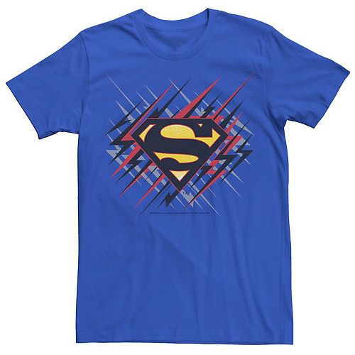 Men's DC Comics Superman Lightning Chest Logo Graphic Tee