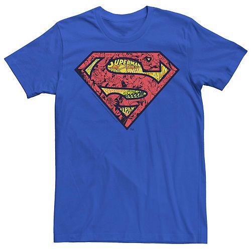 Men's DC Comics Superman Comic Chest Logo Graphic Tee