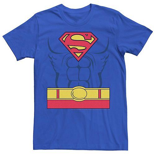 Men's DC Comics Superman Costume Graphic Tee