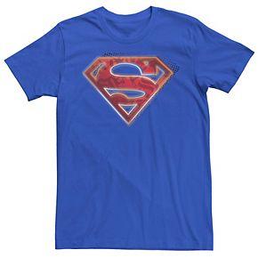 Men's DC Comics Superman Man Of Steel Chest Logo Graphic Tee
