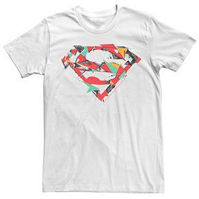 Men's DC Comics Superman Polygon Chest Logo Graphic Tee