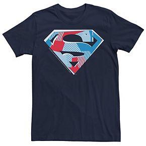 Men's DC Comics Superman Cutout Chest Logo Graphic Tee