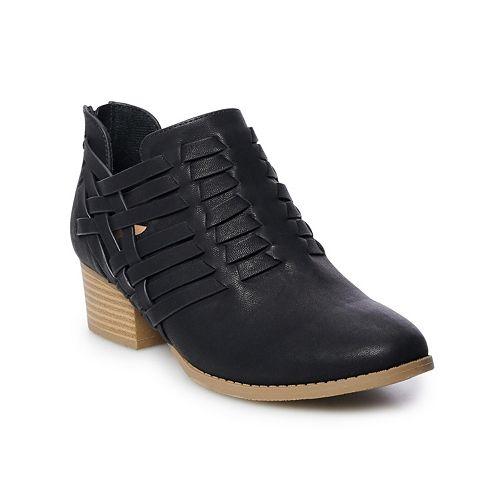 LC Lauren Conrad Tanzanite Women's Ankle Boots