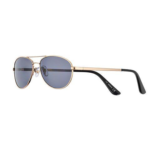 Women's FILA™ Petite Metal Aviator Sunglasses