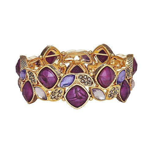 Napier Stone Stretch Bracelet