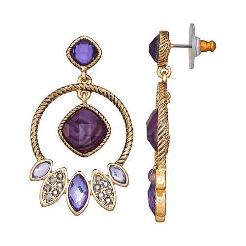 Napier Orbital Post Earrings