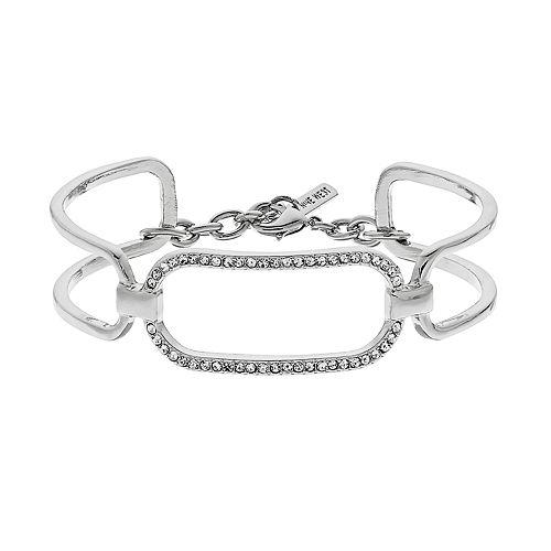 Nine West Pave Chain Link Cuff Bracelet
