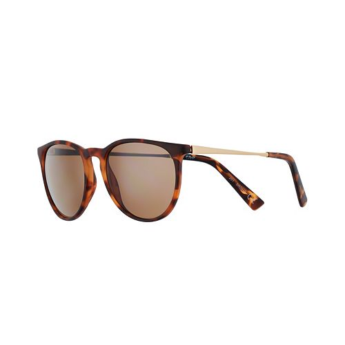 Women's FILA™ Keyhole Metal 54mm Round Flash Sunglasses