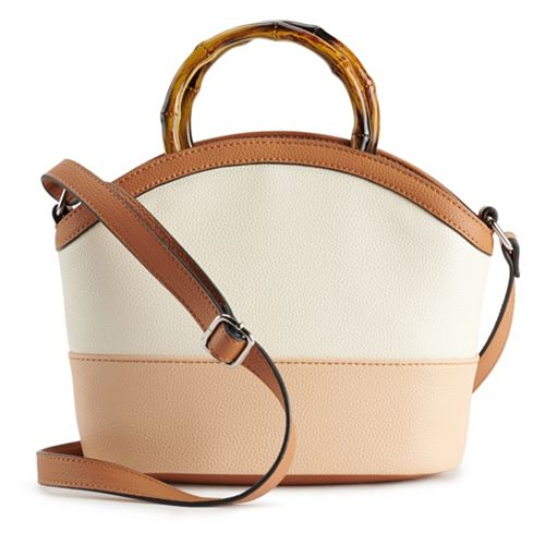 Dana Buchman Colorblock Satchel