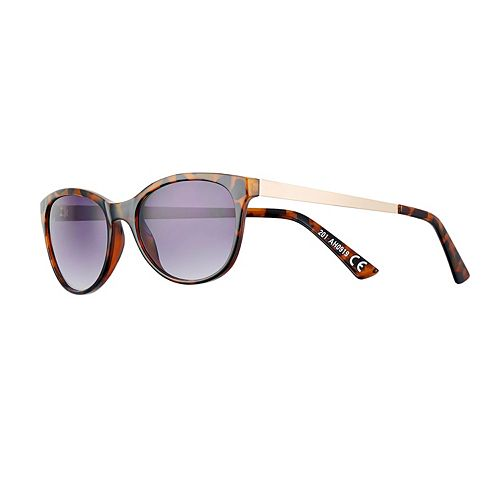 Women's Apt. 9® Metal Temple Cat Eye Sunglasses