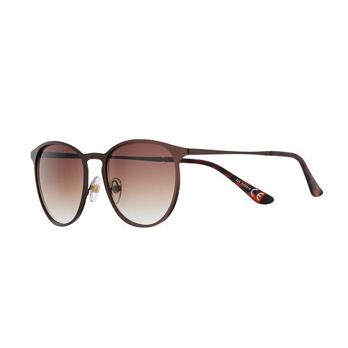 Women's Apt. 9® Metal Round Keyhole Sunglasses