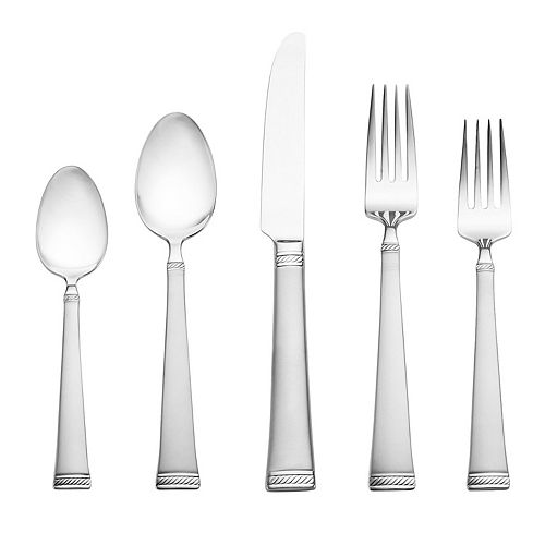 Mikasa Meris Frost 20-pc. Flatware Set