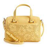 LC Lauren Conrad Small Bowler Bag