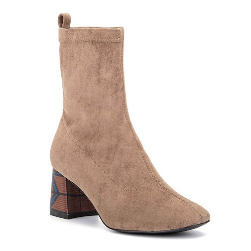 Olivia Miller Unbreak My Heart Women's Ankle Boots