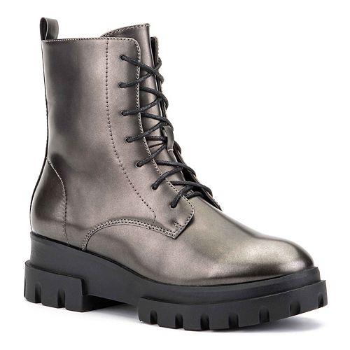Olivia Miller Exhale Women's Combat Boots