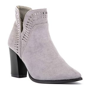 Olivia Miller Ironic Women's High Heel Ankle Boots
