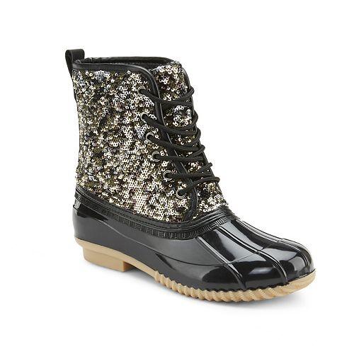 Olivia Miller Truth Not Dare Women's Water Resistant Winter Boots