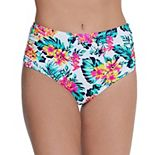 Mix & Match Print High-Waist Bikini Bottoms